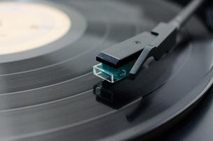 レコード盤の写真素材 [FYI00153857]