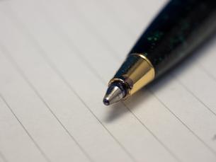 ボールペンの写真素材 [FYI00153906]