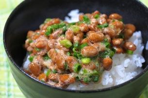 納豆ご飯の写真素材 [FYI00153971]