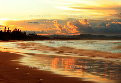 美しい海岸の写真素材 [FYI00154068]