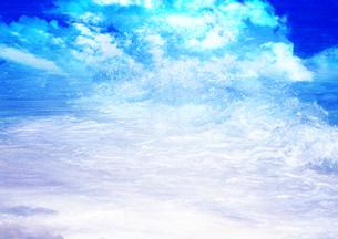 波の写真素材 [FYI00154145]