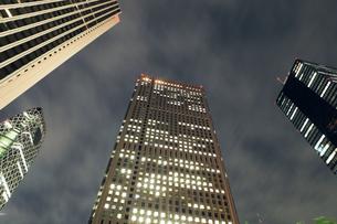 新宿オフィス街の写真素材 [FYI00154147]