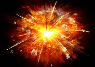 爆発の写真素材 [FYI00154162]