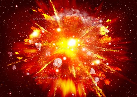 爆発の写真素材 [FYI00154172]