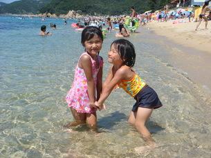 海水浴の写真素材 [FYI00154196]