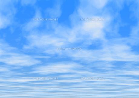 空の素材 [FYI00154229]