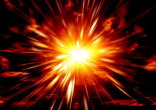 爆発の写真素材 [FYI00154287]