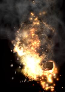 爆発の写真素材 [FYI00154295]