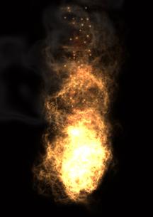 爆発の写真素材 [FYI00154297]