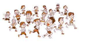 マラソン大会の写真素材 [FYI00154351]