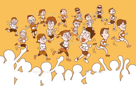 マラソン大会の写真素材 [FYI00154358]