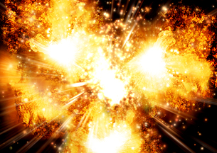 爆発の写真素材 [FYI00154388]