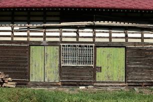 小屋の戸板の写真素材 [FYI00154987]