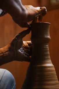 陶芸のイメージの写真素材 [FYI00155245]