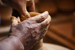 陶芸のイメージの写真素材 [FYI00155249]