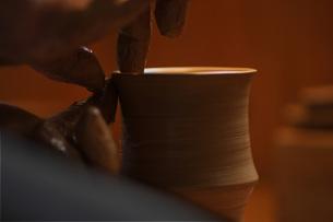 陶芸のイメージの写真素材 [FYI00155250]