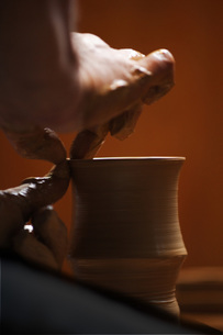 陶芸のイメージの写真素材 [FYI00155256]