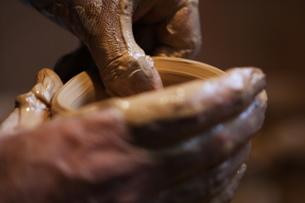 陶芸のイメージの写真素材 [FYI00155257]
