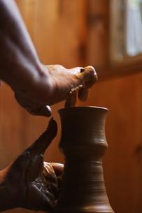 陶芸のイメージの写真素材 [FYI00155259]