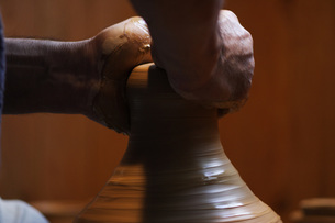 陶芸のイメージの写真素材 [FYI00155261]