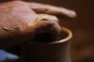 陶芸のイメージの写真素材 [FYI00155265]