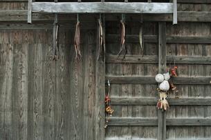 鮭トバとひょうたんの写真素材 [FYI00155443]