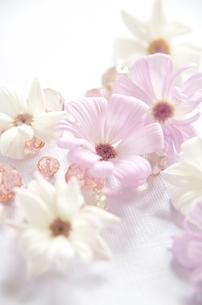 花とガラスビーズの写真素材 [FYI00155904]