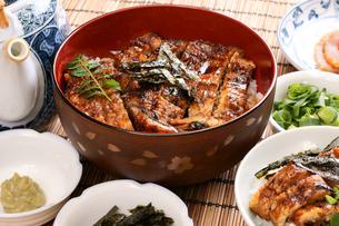ひつまぶし(鰻料理)の写真素材 [FYI00156086]