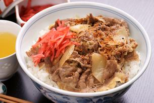 牛丼の写真素材 [FYI00156098]