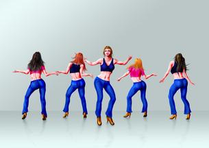 ダンスグループの写真素材 [FYI00156384]