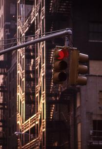 ニューヨークのシグナルの写真素材 [FYI00156392]