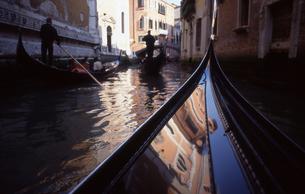 ヴェネツィアのゴンドラの写真素材 [FYI00156407]