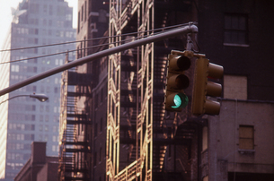 ニューヨークのシグナルの写真素材 [FYI00156421]