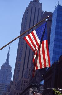 五番街の星条旗の素材 [FYI00156434]