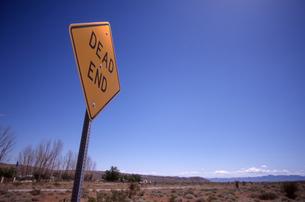 DEAD ENDの写真素材 [FYI00156444]