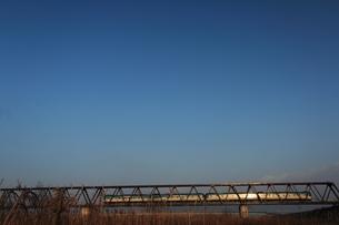 鉄橋の写真素材 [FYI00156511]