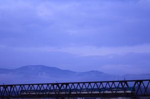 鉄橋の写真素材 [FYI00156514]