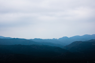 山の稜線の写真素材 [FYI00156606]