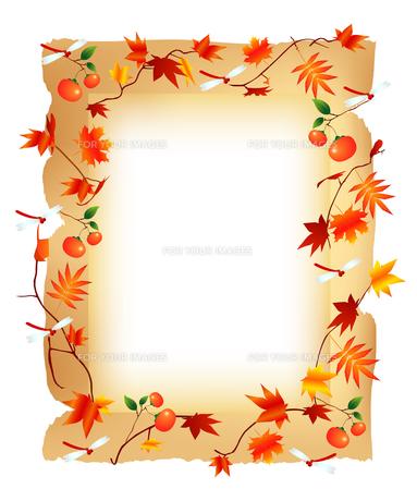 秋のフレームの写真素材 [FYI00157320]