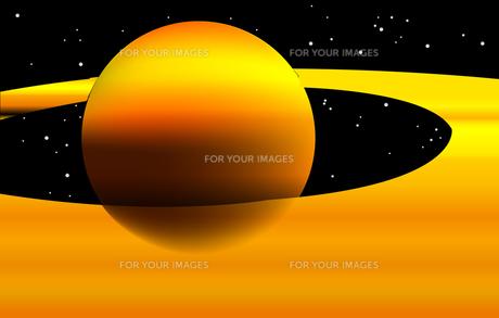 宇宙の惑星の写真素材 [FYI00157369]