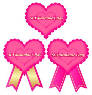 バレンタインハートフレームの写真素材 [FYI00157456]