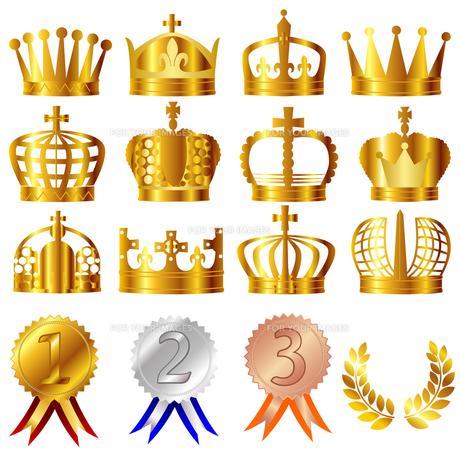 王冠の写真素材 [FYI00157611]
