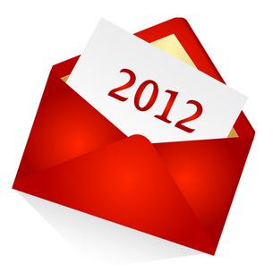 2012メールの写真素材 [FYI00157803]