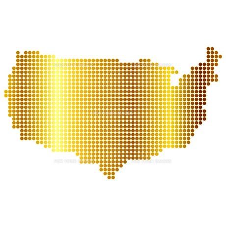 アメリカ 地図の写真素材 [FYI00157836]