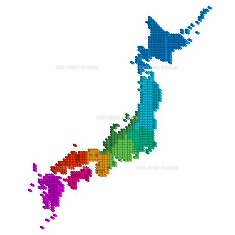 日本地図の写真素材 [FYI00158333]