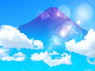 富士山の写真素材 [FYI00158635]