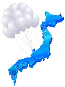 日本地図の写真素材 [FYI00159322]