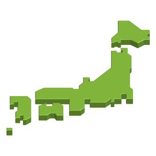 日本地図の素材 [FYI00159332]
