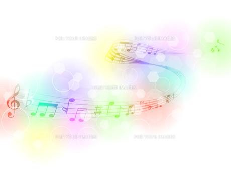 音符の写真素材 [FYI00161357]