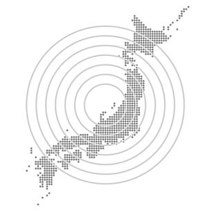 日本地図の写真素材 [FYI00161476]